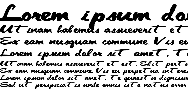 Sample of CleanCut56 ttext