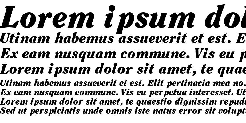 Sample of ClearfaceBlackSSK Italic