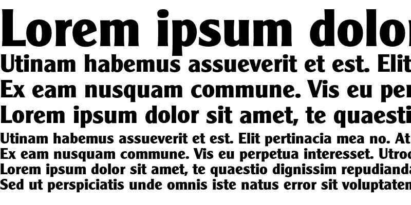 Sample of Cleargothic-Bold