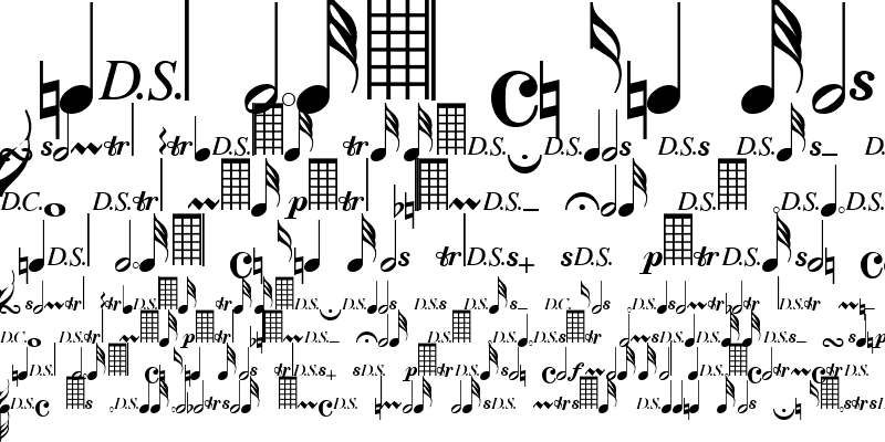 Sample of Clef Notes