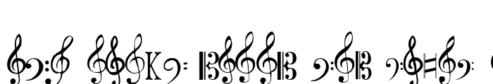 Preview of Clefs Regular