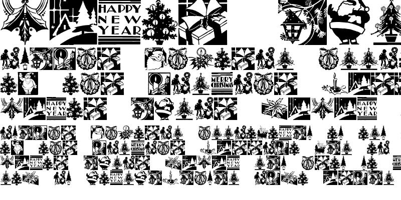 Sample of Cobb Shinn Christmas Cuts