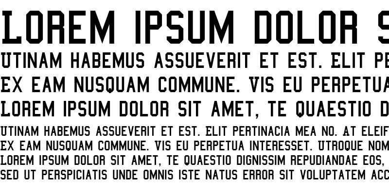 Sample of College Semi-condensed