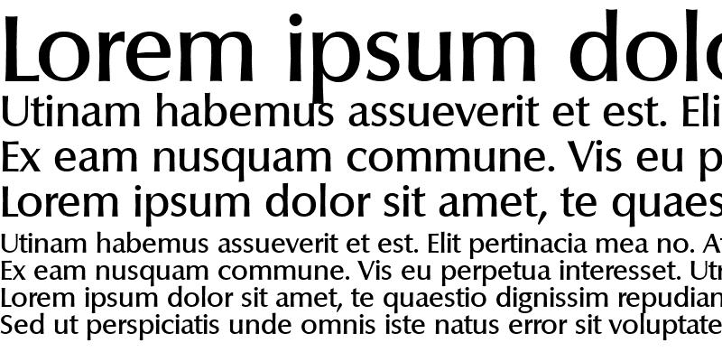 Sample of Columbia-Medium Regular