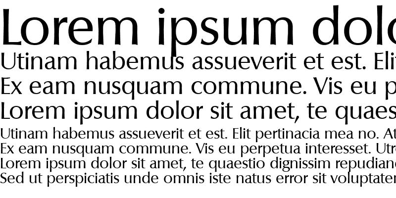 Sample of Columbia-Regular
