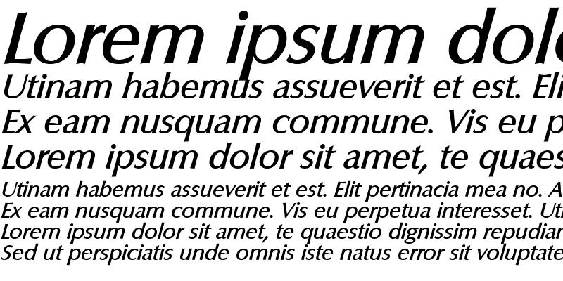 Sample of Columbia-Serial-Medium