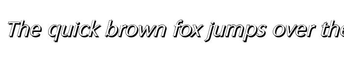 Preview of ColumbiaShadow Italic