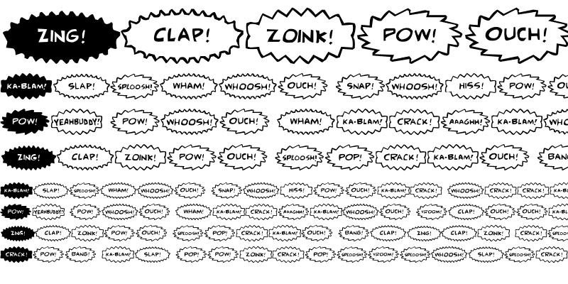 Sample of Comic FX