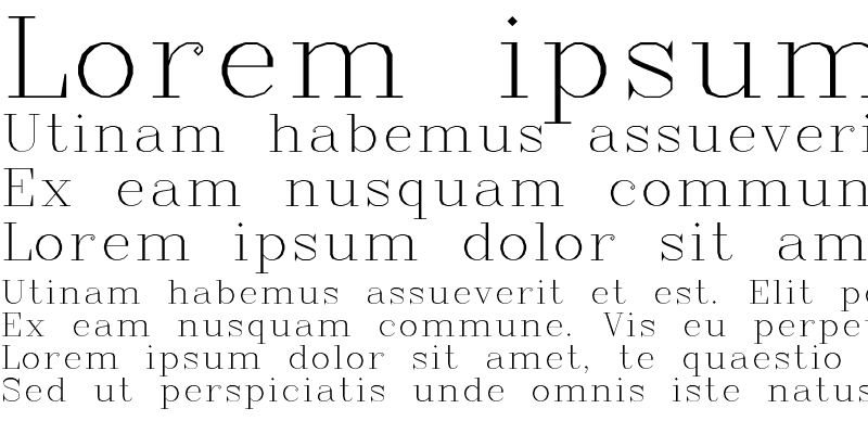Sample of Complex Regular