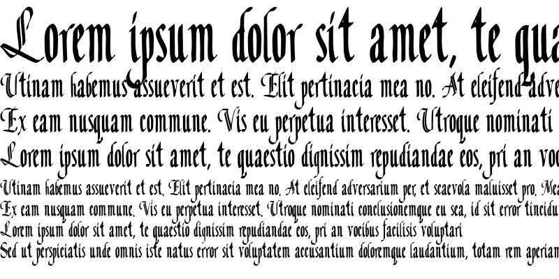 Sample of Concordia Text