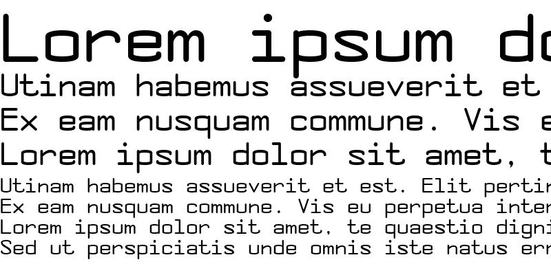 Sample of Concursico Mono BTN