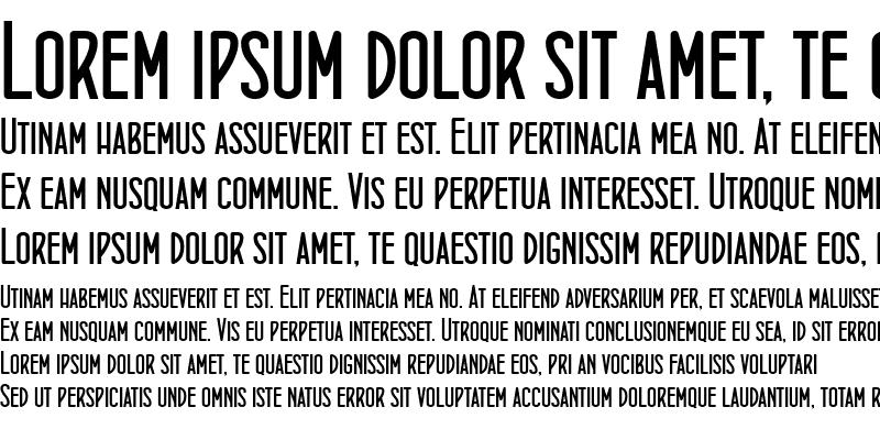 Sample of ConcursoItalian BTN Bold