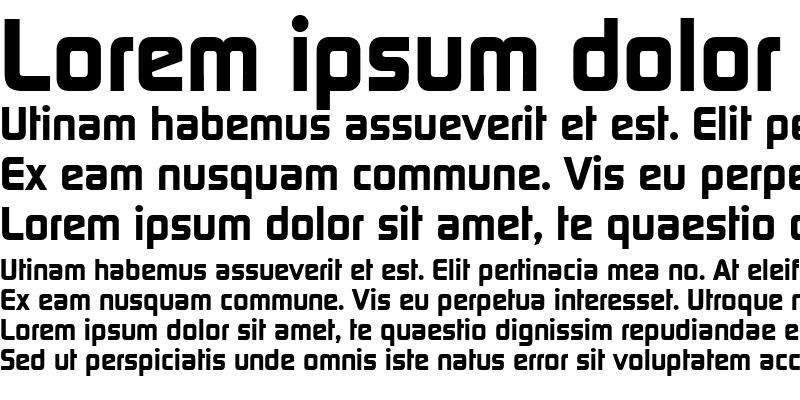 Sample of Continuum Bold