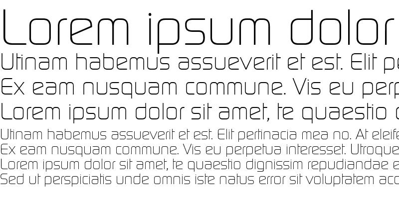 Sample of Continuum Light Regular
