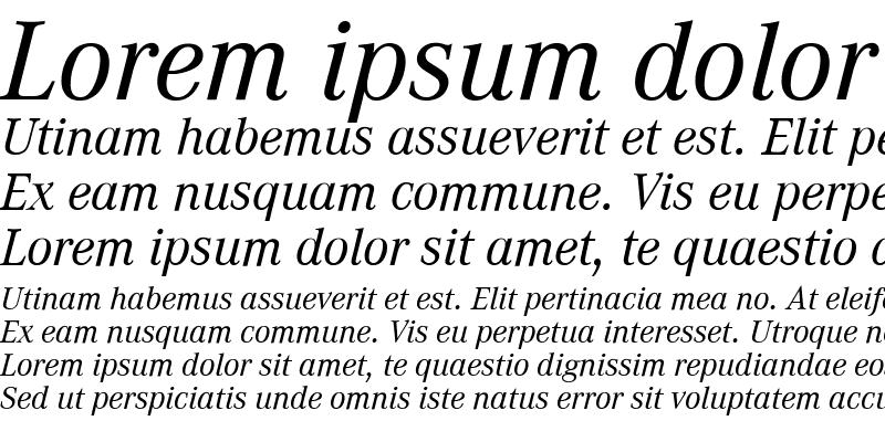 Sample of Corporate A Expert BQ Italic