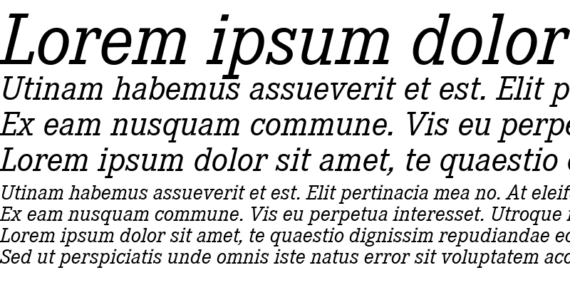 Sample of Corporate E Expert BQ Italic
