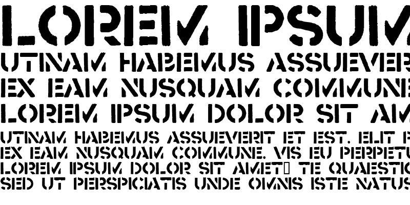 Sample of Crass