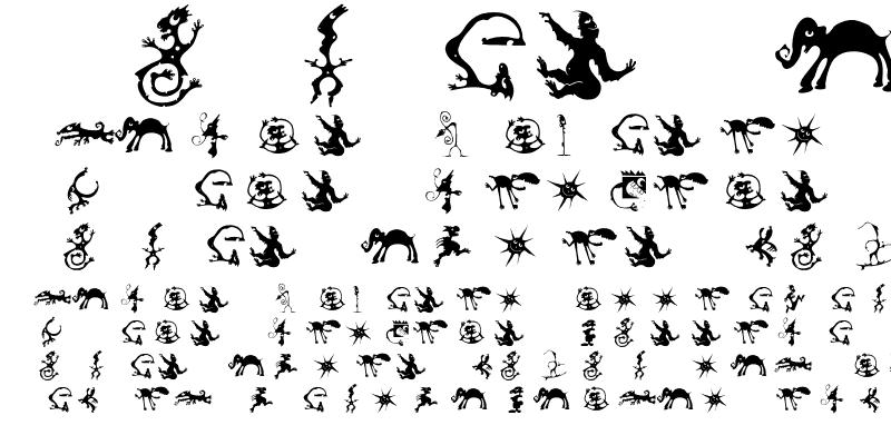Sample of Creatures