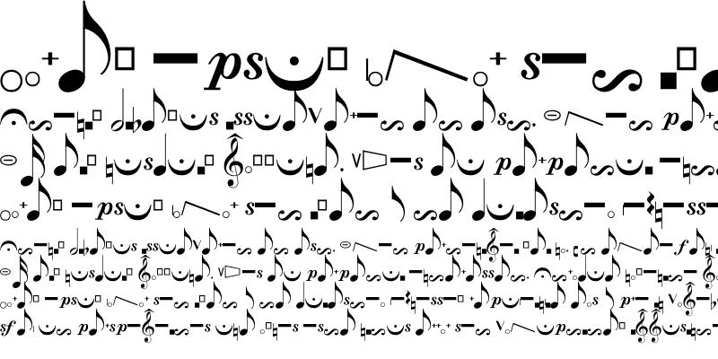 Sample of Crescendo