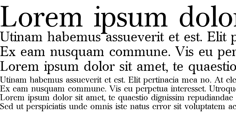 Sample of Crescent Regular
