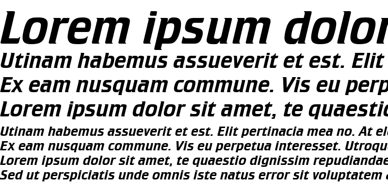Sample of Crillee Italic