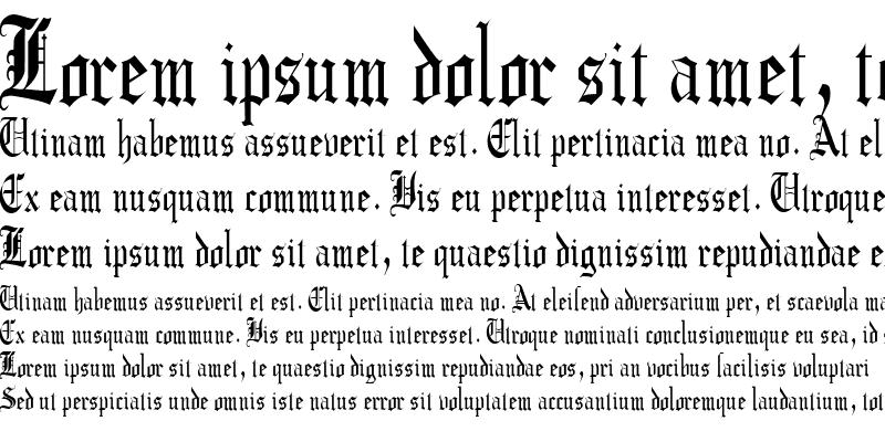 Sample of CrusaderGothicCondensed Regular