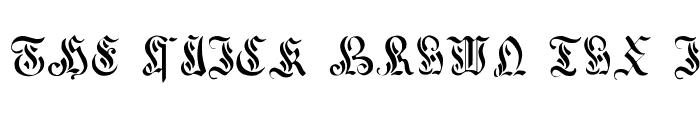 Preview of Curved Manuscript, 17th c. Regular