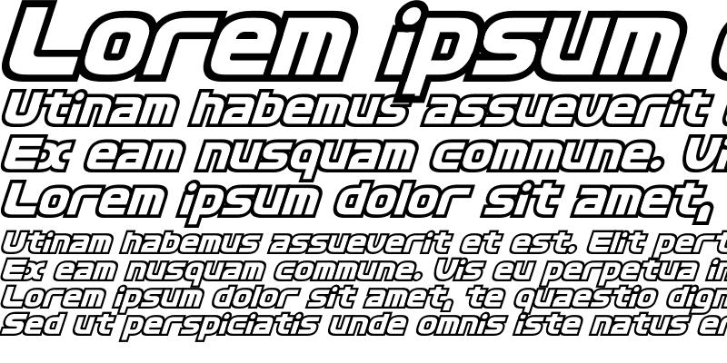 Sample of D3 Cosmism Oblique
