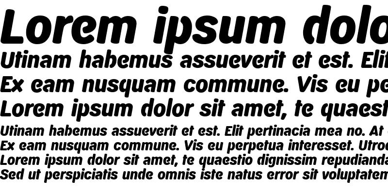Sample of D820-Sans
