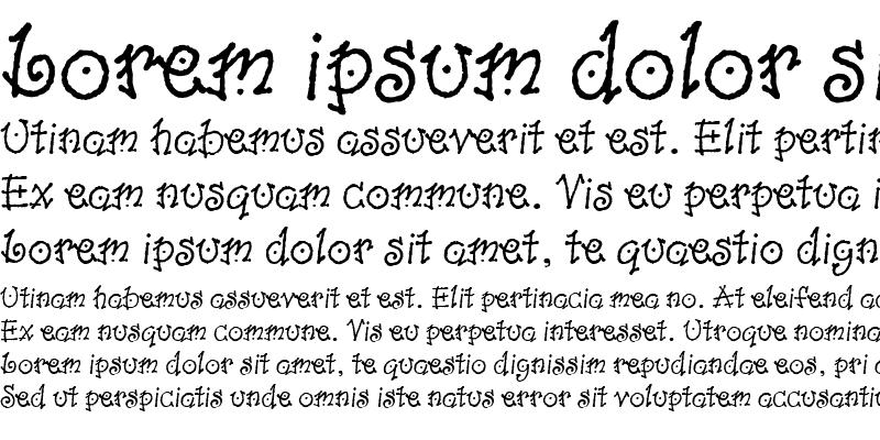 Sample of Dancin LET Plain