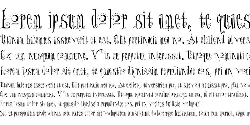 Sample of Dantes Inferno Regular