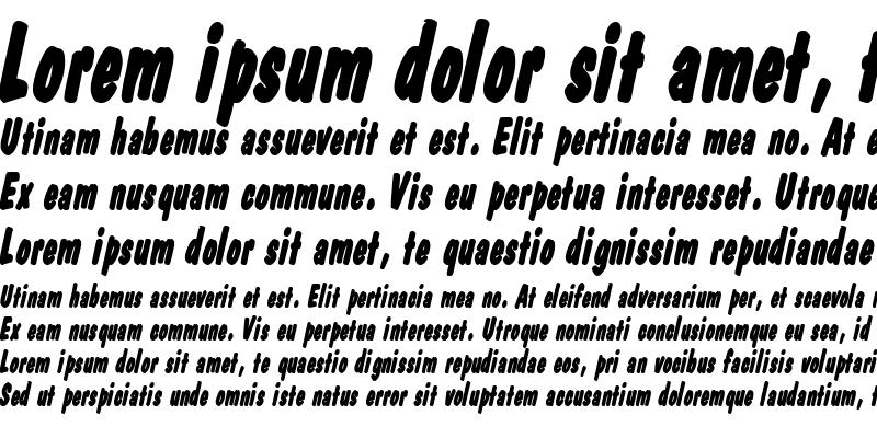 Sample of DapperThin