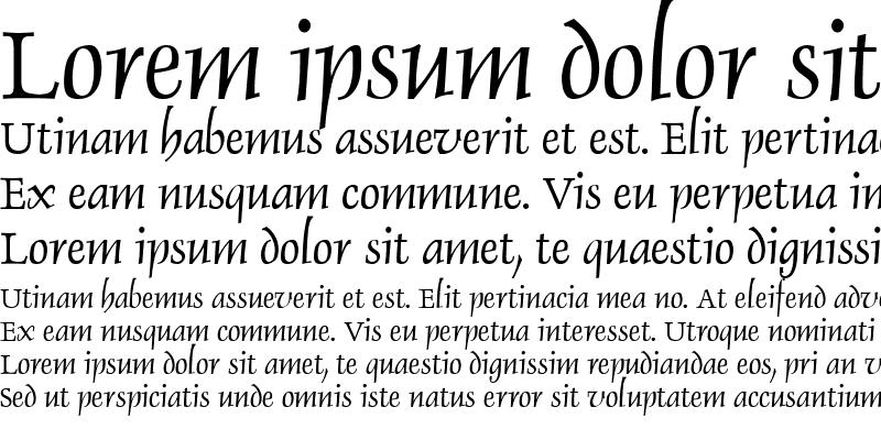 Sample of Dauphin Regular