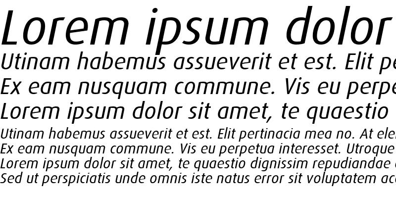 Sample of Dax-Italic