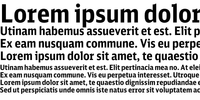 Sample of DB Sans Cond Bold