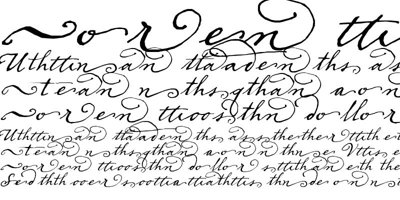 Sample of Dear Sarah Swash