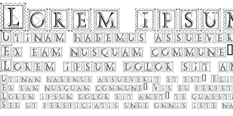 Sample of Deco Stamp