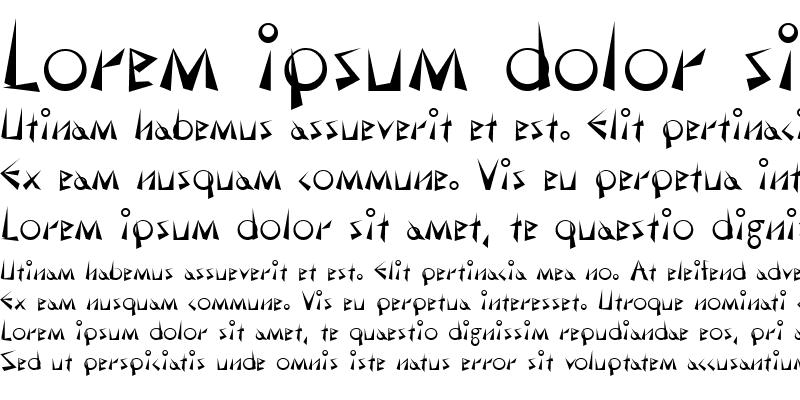 Sample of Demotte Bold