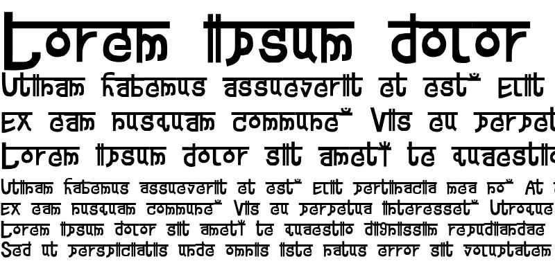 Sample of Devanagarish