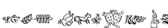 Preview of DF Calligraphic Ornaments Medium