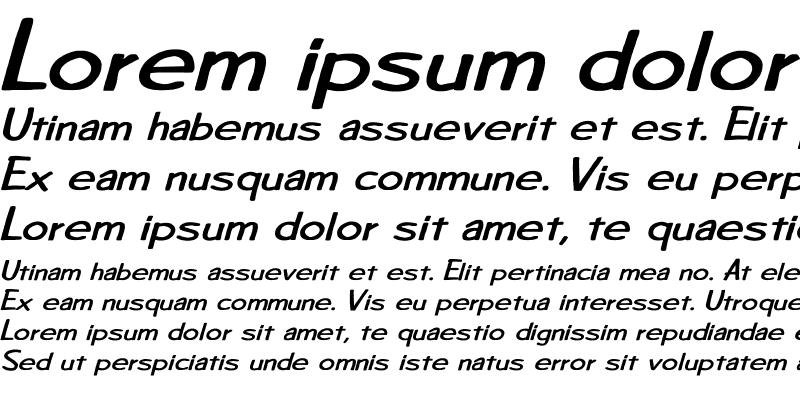 Sample of Diego1 BI Bold Italic