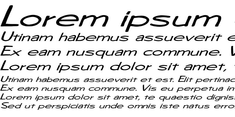 Sample of Diego1 Ex Italic