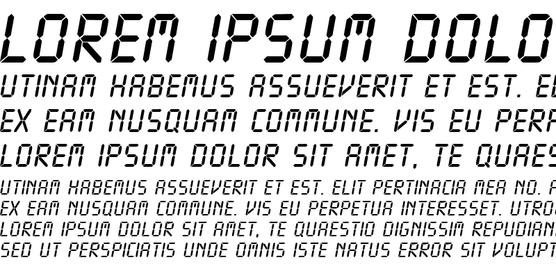 Sample of DigitalDB