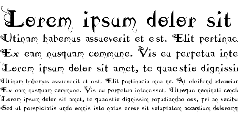 Sample of Dilana Experimentype Regular