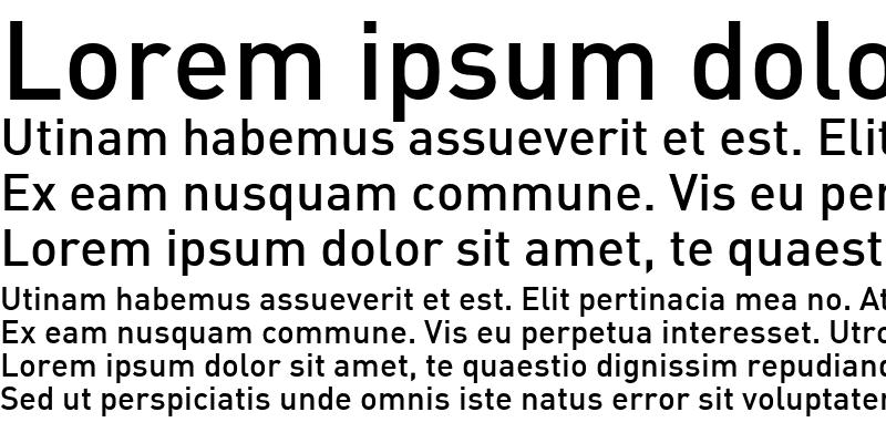 Sample of DIN Medium