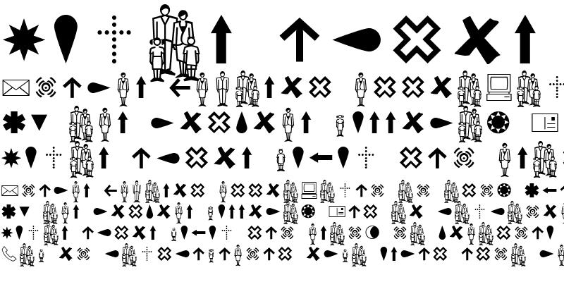 Sample of Dingbests-Regular Regular
