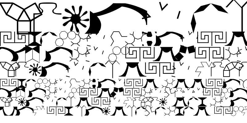 Sample of Dingsda Regular