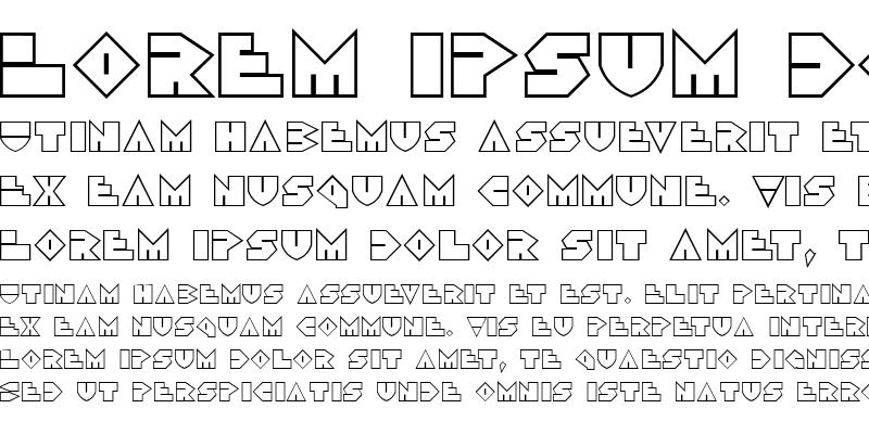 Sample of Disco Dork Outline