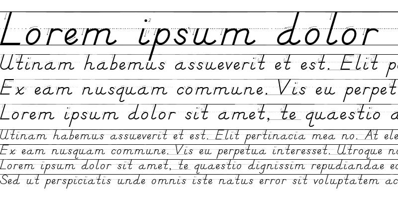 Sample of DN Manuscript Arrows Rules Regular