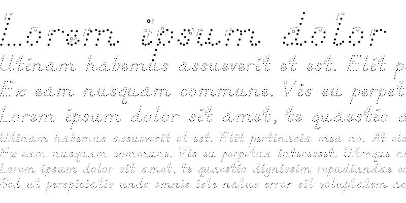 Sample of DN Manuscript Dots Arrows Regular
